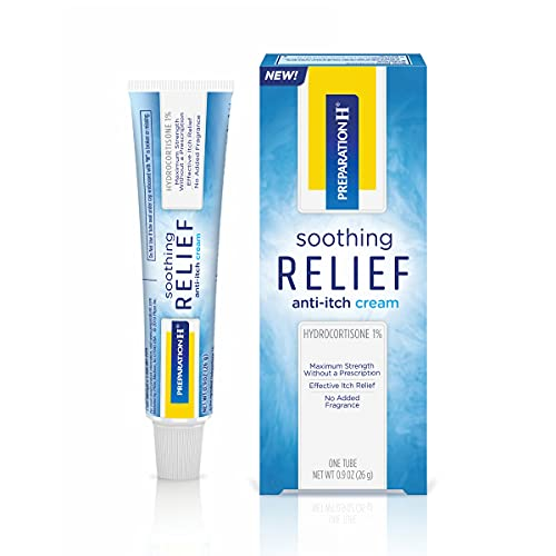 Preparation H Soothing Relief Anti Itch