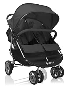 Joovy Scooter X2 Double Stroller, Black (Older Version) (Discontinued by Manufacturer)