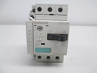 New siemens 3rv1011 1ca10 sirius 3r 1 8 2 5a manual motor for Siemens manual motor starter