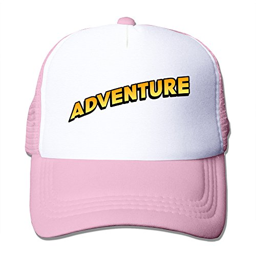 Adventure Camp Logo Trucker Baseball Mesh Cap Adjustable Fashion Cap