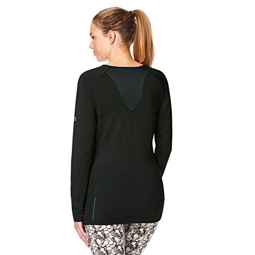 Nosilife Sleeve Craghoppers Coast ladies Charcoal Top Womens Long Strech Jersey wqaZS4a