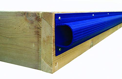 (Dock Edge + Inc. Premium PVC Super Saver Dock Bumper Profile, 3-8-Feet Sections (24-Feet, Navy Blue) (Renewed))