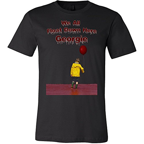 We All Float Down Here Georgie Shirt - Funny Scary Horror -