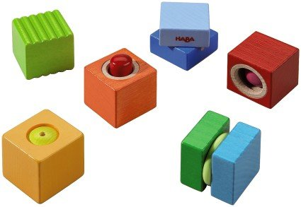HABA Fun with Sounds Wooden Discovery Blocks with Acoustic Sounds (Made in Germany) by HABA (Image #2)