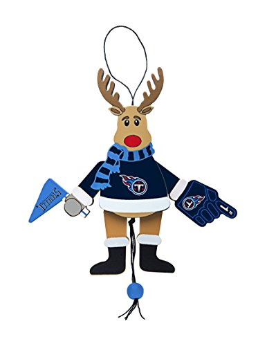 NFL Tennessee Titans Wooden Cheer Ornament