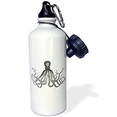 Statuear Noir et blanc Lord Bodner Kraken Aluminium 567gram Bouteille d'eau 600ml Cadeau