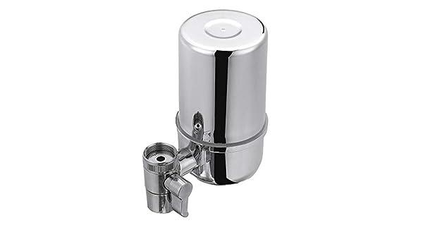 Jie Ling Bai purificador de agua en casa filtro de grifo para beber directo grifo de cocina purificador de agua purificador filtro de agua (host + 3 filtros): Amazon.es: Hogar