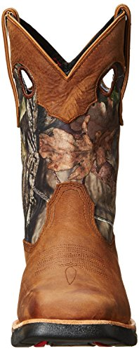 Distressed Brown Rocky Distressed Western Men's Camo Brown and Boot RKW0154 0qxYS0