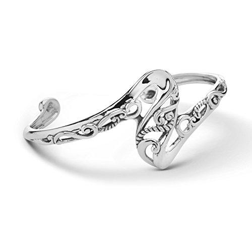 Carolyn Pollack Sterling Silver Twist Cuff Bracelet - ()