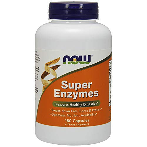 NOW Super Enzymes,180 Capsules
