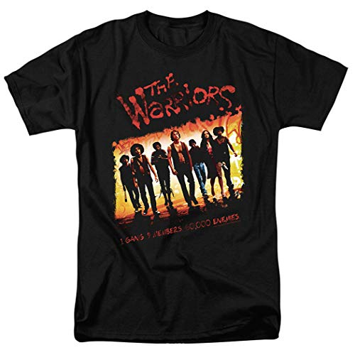The Warriors Come Out to Play Gang Movie T Shirt (X-Large) Black