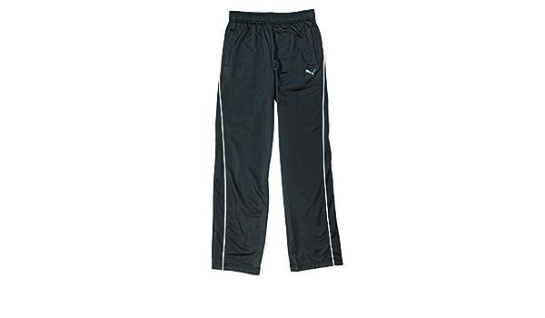 Mesh Knit Warm-Up Pants Size Large Puma Big Boys 8-20 Black Athletic Pants