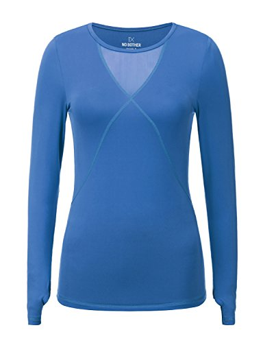REGNA X Womens Long Sleeve workout clothes yoga