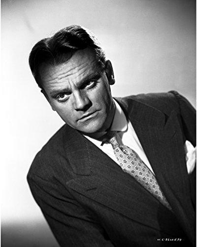 Black Necktie Background (James Cagney Portrait Leaning Forward In Dark Grey Velvet Suit And White Polka Dot Necktie With White Background - 8