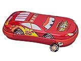 Aimeio Children's Cartoon Zipper Car Pencil Case Holder Storage Bag Pouch Stationery Gift,Red