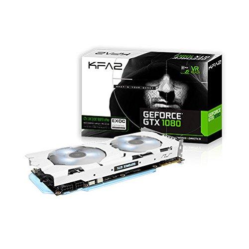 KFA2 80NSJ6DHN1WK GeForce GTX 1080 8GB GDDR5 - Tarjeta ...