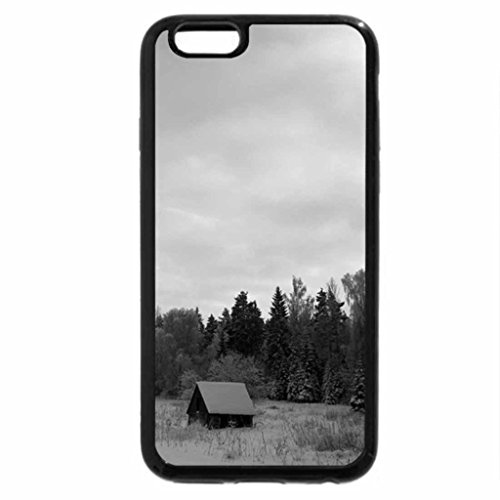 iPhone 6S Plus Case, iPhone 6 Plus Case (Black & White) - The Lonely House