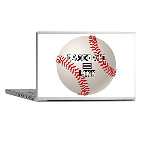Laptop Notebook 11-12 Inch Skin Cover Baseball Equals Life ()