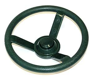 Eastern Jungle Gym Green Plastic Steering Wheel Swing Set Accessory for Wood Backyard Play Set