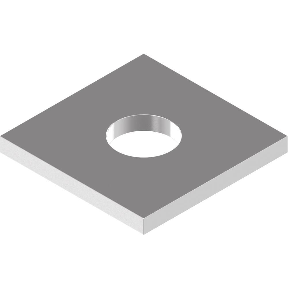 25 St/ück Vierkantscheiben DIN 436 Edelstahl A2 f.Holzkonstr. 13,5 f.M12