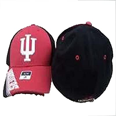 Indiana Hoosiers Adidas Structured Flex Men's Fitted Hat (L/XL)