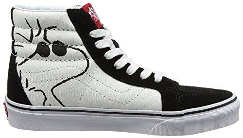 Trainers Joe Black Adults' hi Sk8 Unisex Leather Cool Vans Reissue Peanuts wnZHYqxWfF