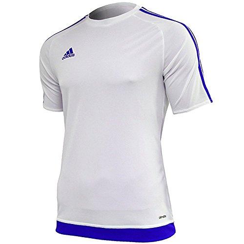 T 15 shirt Uomo Adidas bold Bianco Blue Estro Jsy tqwHqAvUx