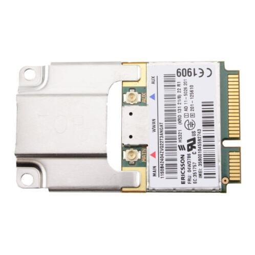 H5321GW HSPA+21Mbps 3G WWAN Card USE for Thinkpad x1 Carbon X230 W530 T430 E520 by PJ CARD