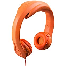 Bendable Headphones for Kids, Orange