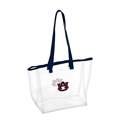 Logo Brands NCAA Auburn Stadium Clear Tote, One Size, Multicolor