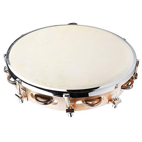(Mr.Power Capoeira Leather Pandeiro Drum Tambourine Samba Brasil Wood Music Instrument 10
