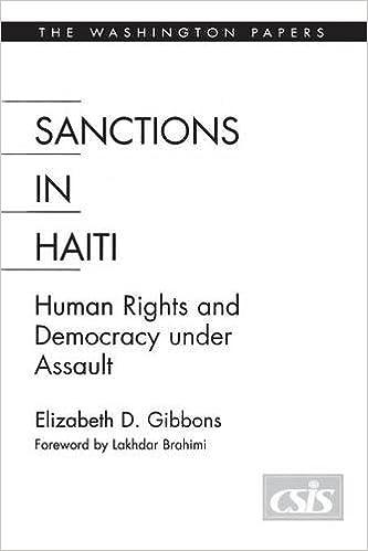 Téléchargement gratuit de manuels scolaires en ligneSanctions In Haiti: Human Rights and Democracy under Assault (Washington Papers (Paperback)) PDF by Elizabeth D. Gibbons
