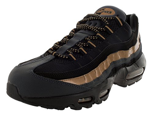 Air Men Max mtllc Black PRM Running anthrct Shoes Black Dorado s Gold 95 Black Competition Black Nike FEd6TqRnF