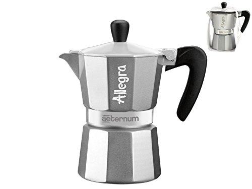Bialetti 6015 Allegra Espresso Maker, Silver