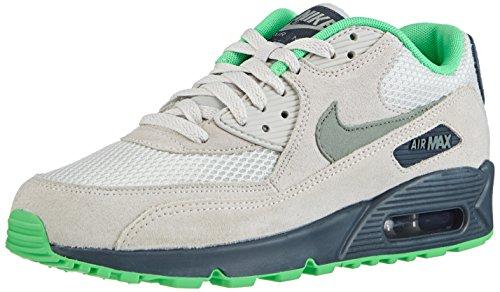 size 40 0d85b 1e8b0 ... france nike mens air max 90 essential running shoes light bone charcoal  poison green 537384 043