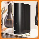 WD 10TB Elements Desktop Hard Drive, USB 3.0