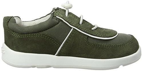 Kickers Unisex Baby Jiri Lace Sneaker Braun (Khaki)