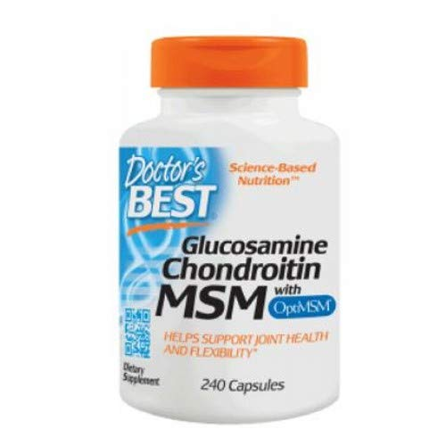 Glucosamine/Chondroitin/MSM, Pack of 3 by Doctor's Best (Image #1)