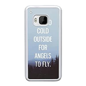HTC One M9 Cell Phone Case White Ed Sheeran Quotes AS7YD3573997