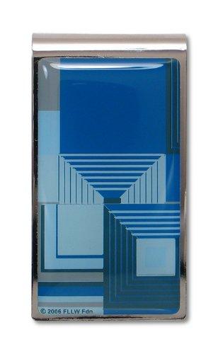 (ACME Studios Biltmore Blue Money Clip by Frank Lloyd Wright (A2W49MC) )