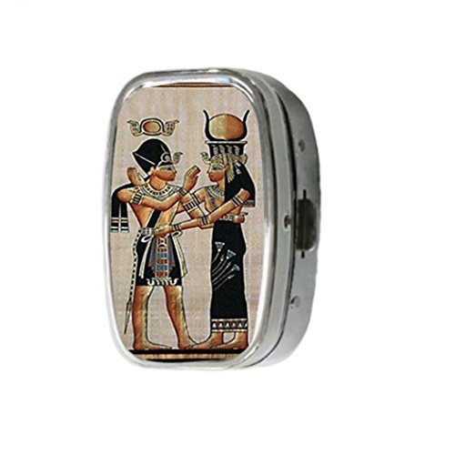 egyptian-goddess-customize-unique-silver-square-pill-box-medicine-tablet-organizer-or-coin-purse-by-