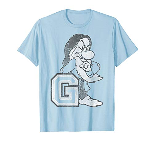 - Disney Snow White And Seven Dwarfs Grumpy T-Shirt