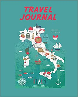 Simple Map Of Italy.Travel Journal Italy Map Kid S Travel Journal Simple Fun Holiday
