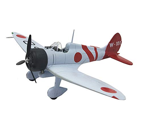 Japan Zero Fighter Model, WWII Military Aircraft Finished Product Plastic Model, Adult Collectibles (7.5Inchx5.9Inch) from EP-Model