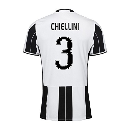 2016 – 17 Juventus Homeシャツ(Chiellini 3 ) B077ZSC2ZKホワイト Medium 38-40\