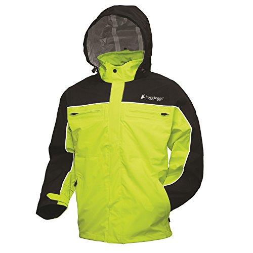 uiser Jacket, Black/Hi-Viz Green, Large (Black Cruiser Jacket)