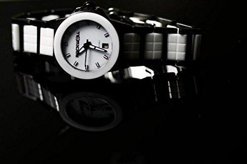 Rockwell Time Women's Katelynn Watch, Black/White Ceramic