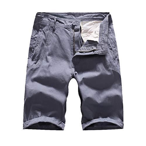 MIS1950s Men's Outdoor Super Lightweight Quick Dry Slim Fit Cargo Shorts with Multi Pockets (No Belt) (Mj Soffe Yoga Capri)