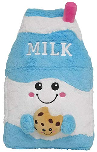 iscream Vanilla Scented Kawaii Milk & Cookie Embroidered Accent 15