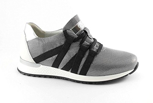 Grunland GRÜNLAND Gio 'DR SC3293 Silver Gray Shoes Woman Sneakers Laces Grigio rJO2TNXJ